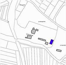 Lageplan 2007 (Vorlage LV-BW) / Schlossscheuer in 79336 Herbolzheim, Bleichheim