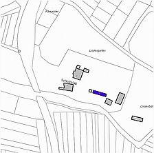 Lageplan 2007 (Vorlage LV-BW) / Schloss, Jägerhaus in 79336 Herbolzheim, Bleichheim