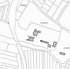 Lageplan 2007 (Vorlage LV-BW) / Schloss, Brennhäusle in 79336 Herbolzheim, Bleichheim