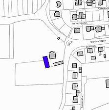 Lageplan 2007 (Vorlage LV-BW) / Scheune zum Pfarrhof  in 79336 Herbolzheim, Bleichheim