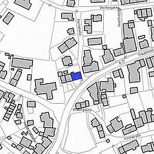 Lageplan 2007 (Vorlage LV-BW) / Wohnhaus in 79798 Jestetten
