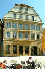 "Westfassade. / ehemaliges Gasthaus ""Rose"" in 74172 Neckarsulm (07.05.2009 - Michael Hermann)"