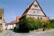 Ansicht von Süden / Fachwerkhaus in 72800 Eningen u.A., Eningen unter Achalm