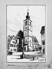 Ansicht von `Loesti`, RPS-LAD / Kirche St. Johannes, Johanneskirche in 74564 Crailsheim