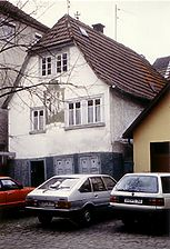 Eberbach, Heumarkt 8, Ansicht Nordost / Wohnhaus in 69412 Eberbach