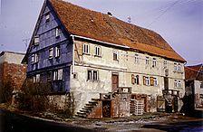Hardheim, Dornberg, Dornberger Straße 4/6, Straßenansicht / ehem. Wohnstallhaus in 74736 Hardheim, Dornberg