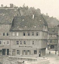 Bild von 1949 (StadtA SHA FS 00839a) / Fachwerkhaus in 74523 Schwäbisch Hall