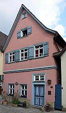 Von der Blendstatt aus, Bild von 2007. Foto: Dietmar Hencke (StadtA SHA Server Häuserlexikon) / Keller in 74523 Schwäbisch Hall