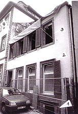 Heidelberg, Kleine Mantelgasse 24, Straßenansicht / Europahaus IV in 69117 Heidelberg, Altstadt