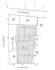 Heidelberg,Mittelbadgasse 14, Lageplan / Wohn- und Geschäftshaus in 69117 Heidelberg, Altstadt