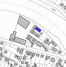 Lageplan 2007 (Vorlage LV-BW) / Scheune mit Remise in 76571 Gaggenau