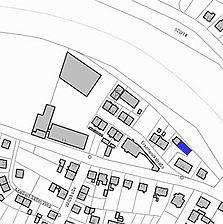 Lageplan 2007 (Vorlage LV-BW) / ehemalige Schmiede in 76571 Gaggenau