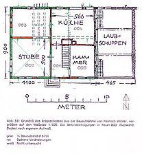 Hemsbach, Balzenbach, Balzenbach 5, Bauphasenplan Erdgeschoss / Eck´scher Hof in 69502 Hemsbach, Balzenbach
