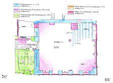 Heidelberg, Hauptstraße 131, Bauphasenplan Erdgeschoss / Wohn- und Geschäftshaus in 69117 Heidelberg, Altstadt