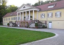 Gaggenau, Bad Rotenfels, Schloß Rotenfels, Ostansicht / Schloss Rotenfels in 76571 Gaggenau, Bad Rotenfels