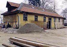 Gaggenau, Bad Rotenfels, Badstraße 1, Schloß Rotenfels, nördl. Nebengebäude, Ansicht von Süd-Westen / Schloss Rotenfels, nördl. Nebengebäude in 76571 Gaggenau, Bad Rotenfels