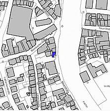 Lageplan (Vorlage LV-BW) / Wohnhaus in 74523 Schwäbisch Hall