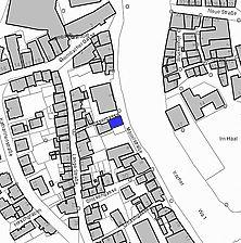 Lageplan Stand 2007 (Vorlage LV-BW) / Wohnhaus in 74523 Schwäbisch Hall