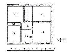 Grundriss Obergeschoss / ehem. Armenhaus in 72160 Horb am Neckar, Bildechingen