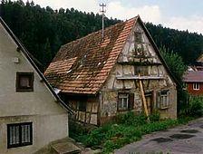 Ansicht Nord-Ost / Wohnhaus mit Scheune in 72160 Horb am Neckar, Untertalheim