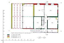 Bauphasenplan Obergeschoss / Quereinhaus  in 72160 Horb am Neckar, Grünmettstetten
