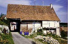 Ansicht Ost / Quereinhaus  in 72160 Horb am Neckar, Grünmettstetten