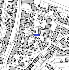 Lageplan 2007 (Vorlage LV-BW) / Wohnhaus in 78183 Hüfingen