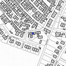 Lageplan 2007 (Vorlage LV-BW) / Wohnhaus in 79341 Kenzingen