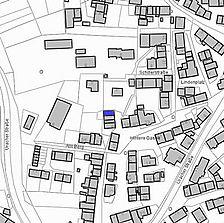 Lageplan 2007 (Vorlage LV-BW) / ehem. Wohnhaus in 72587 Römerstadt-Zainingen
