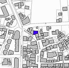 Lageplan 2007 (Vorlage LV-BW) / Wohn- und Geschäftshaus in 72525 Münsingen