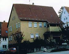 Ansicht von Nordwesten / Wohnhaus, Kindergarten in 72555 Metzingen Neuhausen, Neuhausen an der Erms
