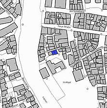 Lageplan 2007 (Vorlage LV-BW) / Wohnhaus, Keller in 74523 Schwäbisch Hall