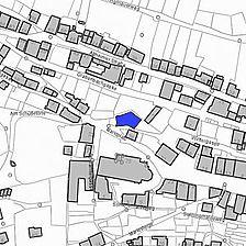 Lageplan 2007 (Vorlage LV-BW) / Ehemaliges Klostergebäude in 72160 Horb am Neckar