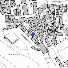 Lageplan 2007 (Vorlage LV-BW) / Schwäbisch Hall, Keckenhof 2 in 74523 Schwäbisch Hall