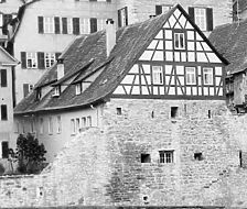 Foto von 1962 Hans Kubach (StadtA SHA FS 01440b) / Schwäbisch Hall, Keckenhof 3 in 74523 Schwäbisch Hall