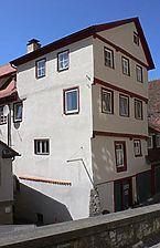 Südostansicht, 2007. Foto: Dietmar Hencke (StadtA SHA Server Häuserlexikon) / Fachwerkhaus in 74523 Schwäbisch Hall