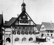 Altes Rathaus nach dem Umbau von 1913. 1928. / Altes Rathaus in 72555 Metzingen