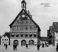 Altes Rathaus vor dem Umbau von 1913. Nach 1902. / Altes Rathaus in 72555 Metzingen