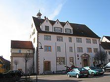 Ansicht des Schlosses von Osten (2008) / Schloss in 71686 Remseck am Neckar, Aldingen