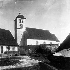 St. Stephan (www.bildindex.de) / Katholische Kirche St. Stephan in 72539 Pfronstetten, Tigerfeld