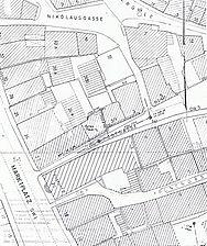 Lageplan Schwäbisch Gmünd 23.01.1969 / Wohn- und Geschäftshaus in 73525 Schwäbisch Gmünd