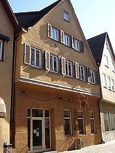 Außenansicht des Gebäudes (Bild entnommen von Häuserlexikon Schwäbisch Hall) / Fachwerkhaus in 74523 Schwäbisch Hall