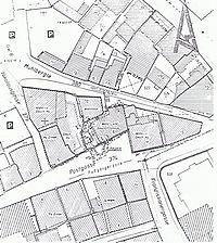 Lageplan Schwäbisch Gmünd 23.06.1983 / Blaue Ente in 73525 Schwäbisch Gmünd
