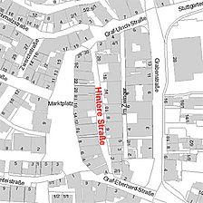 Flurkarte 2006 (Vorlage LV-BW und LAD) / Renaissance-Scheuer  in 71299 Leonberg