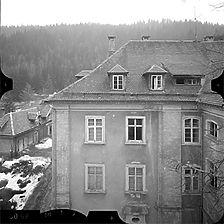 Photogrammetrische Aufnahme Ausschnitt verm. Ansicht Nord, 1977 / ehem. Klosteranlage, ehem. Forsthaus in 79837 St. Blasien