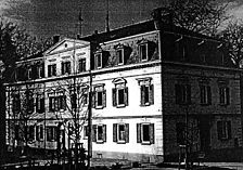 Ansicht Südfassade, März 1998 (T.Mezös) / Villa Burkhardt in 72793 Pfullingen