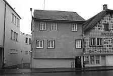 Ansicht von Nordosten, Gebäude mittlerweile abgebrochen / Fachwerkhaus in 72764 Reutlingen