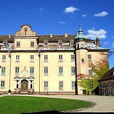 Westansicht des Hauptgebäudes / Neues Schloss, Sachgesamtheit in 76530 Baden-Baden,  keine genauere Zuordnung