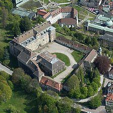 Luftaufnahme von Nordwest / Neues Schloss, Sachgesamtheit in 76530 Baden-Baden,  keine genauere Zuordnung
