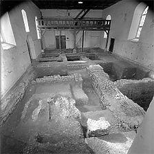 Übersichtsaufnahme Innenraum, 1977 / Peterskirche in 71665 Vaihingen an der Enz